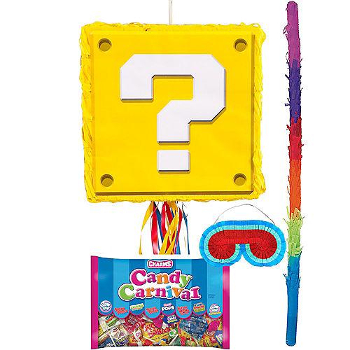 Question Block Pinata Kit - Super Mario Image #1