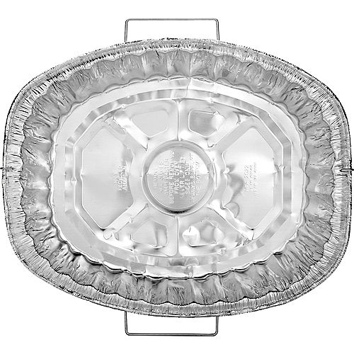 Heavy Duty Aluminum Roaster Pan with Handles Image #1
