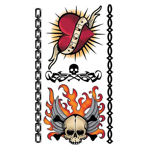 Biker Tattoos 10ct Image #1