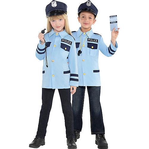 Child Traffic Cop Costume Image #1