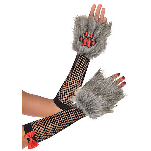 Little Red Riding Hood Arm Warmers Image #1