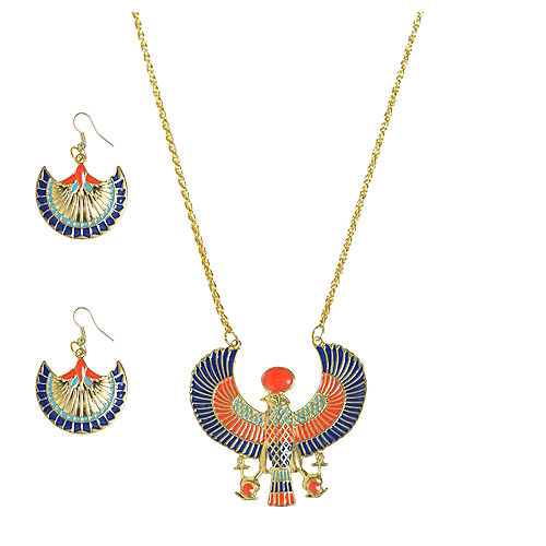 Egyptian Jewelry Set 3pc Image #1