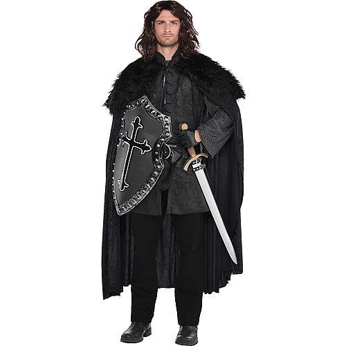 Black Fur Cloak Image #1