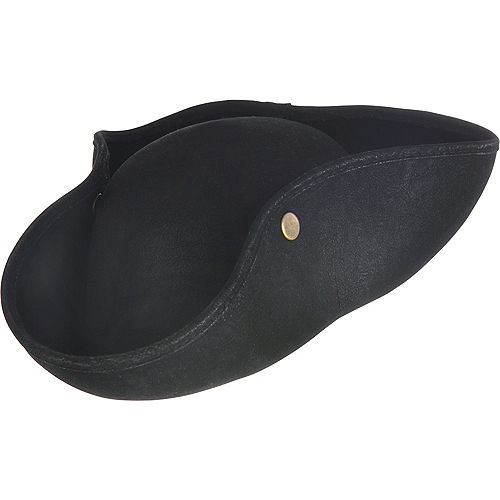 Child Black Pirate Hat Image #1