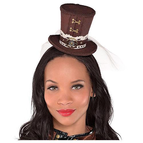 Steampunk Top Hat Headband Image #1