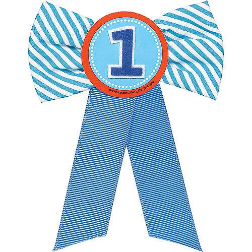Blue 1st Birthday Award Ribbon Image #1