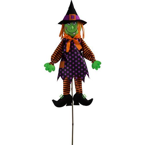 Friendly Witch Yard Stake Image #1