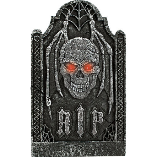 Light-Up Evil Tombstone Image #1