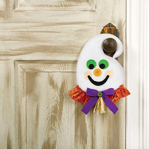 Plush Friendly Ghost Door Hanger Image #1