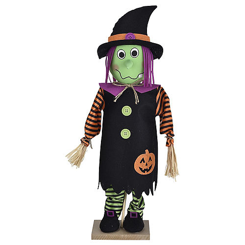 Friendly Standing Witch Decoration Image #1