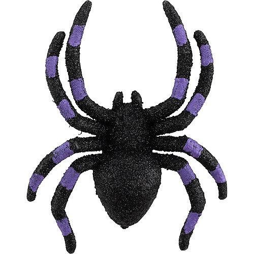 Glitter Spiders 4ct Image #1