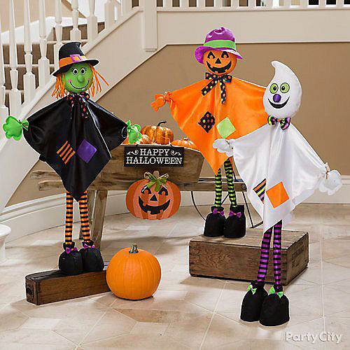 Friendly Standing Pumpkin Decoration Image #2