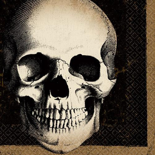 Boneyard Skull Lunch Napkins 125ct Image #1