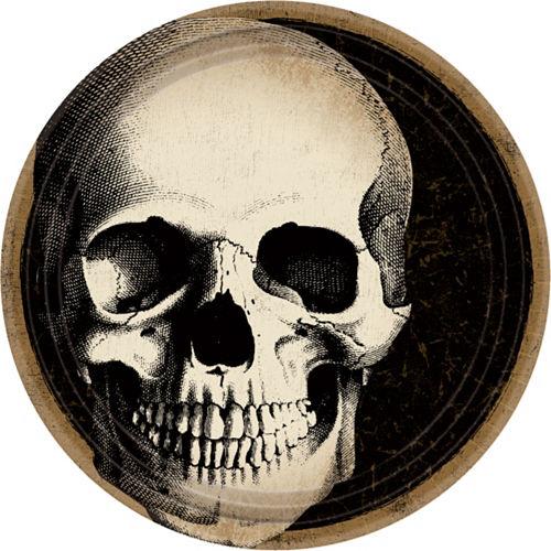 Boneyard Skull Lunch Plates 60ct Image #1