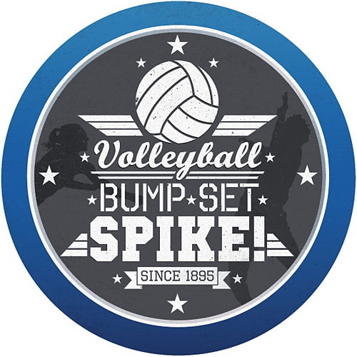 Volleyball Decal Image #1