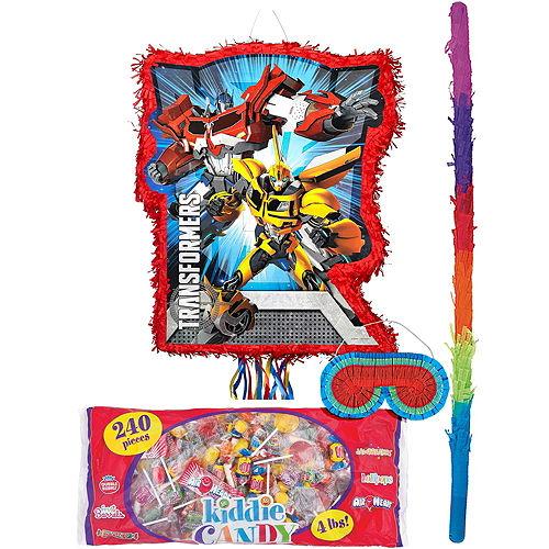 Red Transformers Pinata Kit Image #1