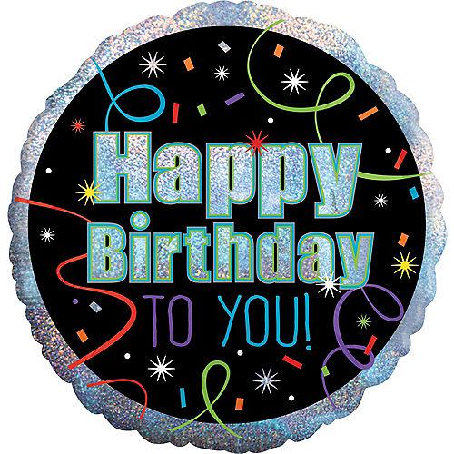 Brilliant Birthday Balloon 18in Image #1