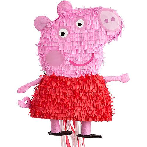 Pull String Peppa Pig Pinata Image #1