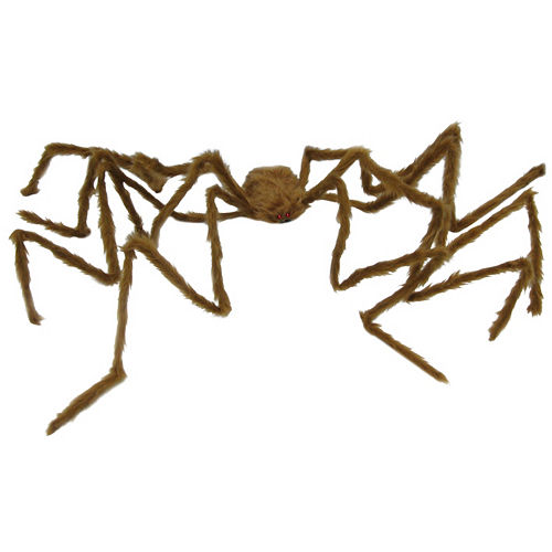 Brown Hairy Poseable Spider Image #1