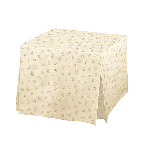 Fall Flannel-Backed Vinyl Fitted Table Cover Image #1