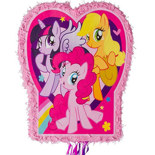 Pink My Little Pony Pinata Kit with Favors Image #5