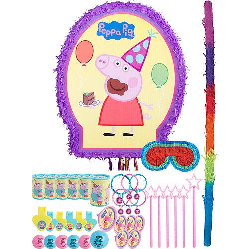Peppa Pig Pinata Kit with Favors Image #1