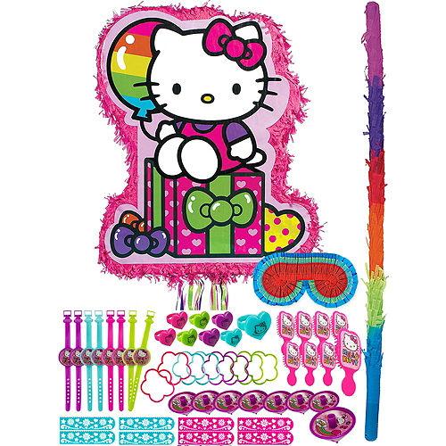 Rainbow Hello Kitty Pinata Kit with Favors Image #1