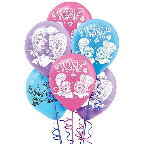 Shimmer and Shine Balloons 6ct Image #1