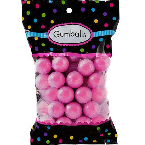 Bright Pink Gumballs 48pc Image #1