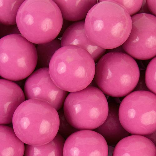 Bright Pink Gumballs 48pc Image #2