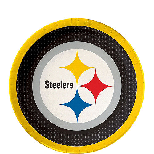 Pittsburgh Steelers Dessert Plates 18ct Image #1