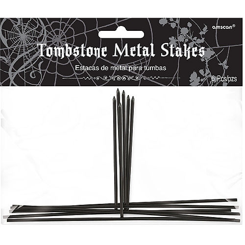 Tombstone Metal Stakes 6ct Image #1