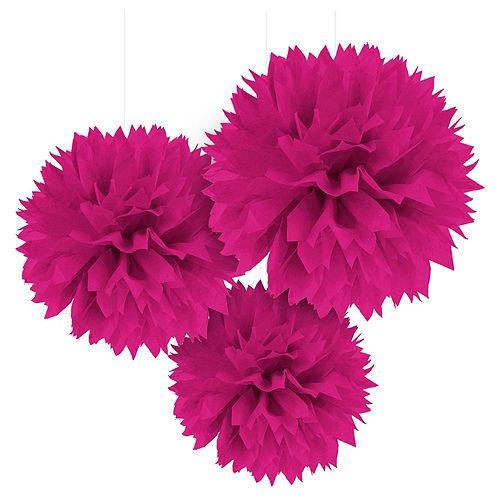 Black & Pink Banner Decorating Kit Image #3