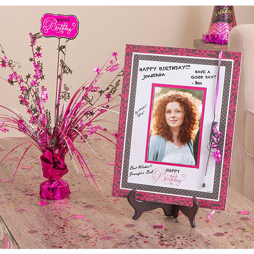Black & Pink Autograph Kit Image #1