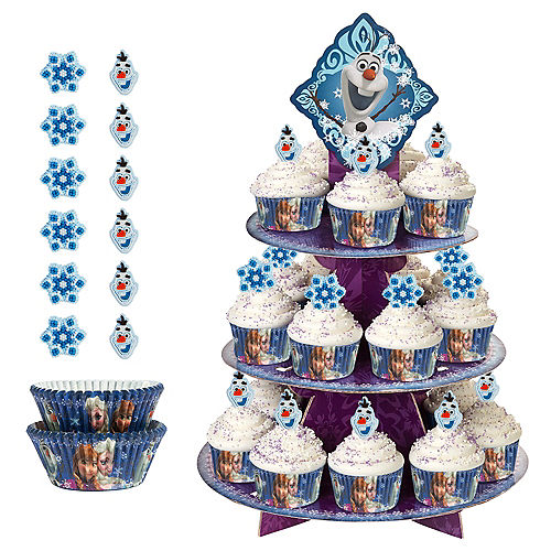 Deluxe Frozen Cupcake Kit for 24 Image #1