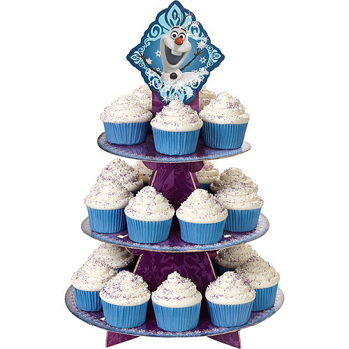 Deluxe Frozen Cupcake Kit for 24 Image #4
