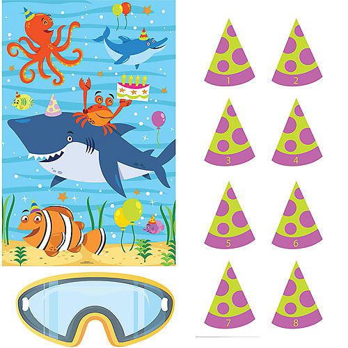 Under the Sea Birthday Party Game Image #1