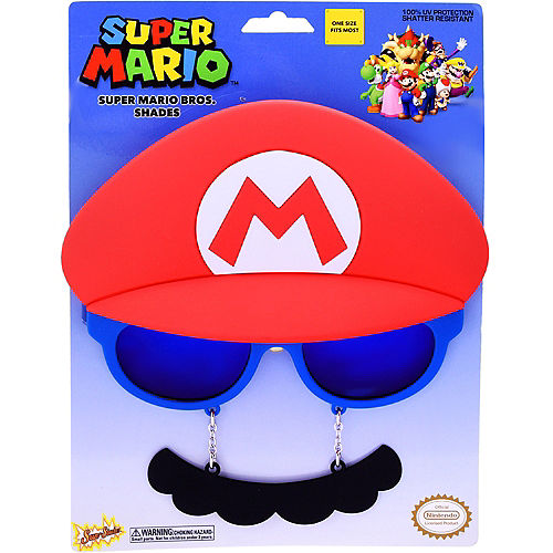 Mario Sun-Staches - Super Mario Brothers Image #3