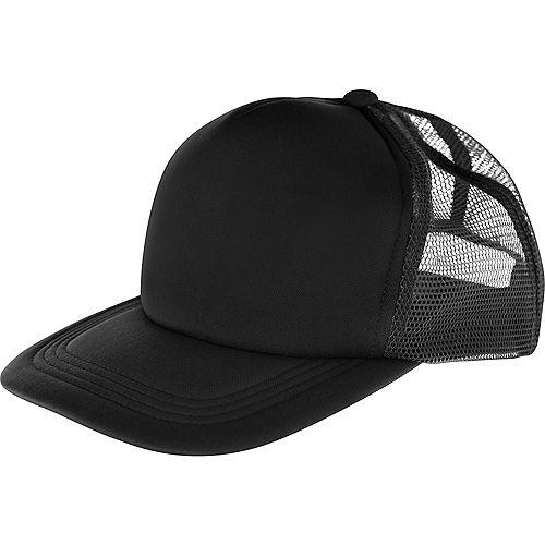 Black Baseball Hat Image #1