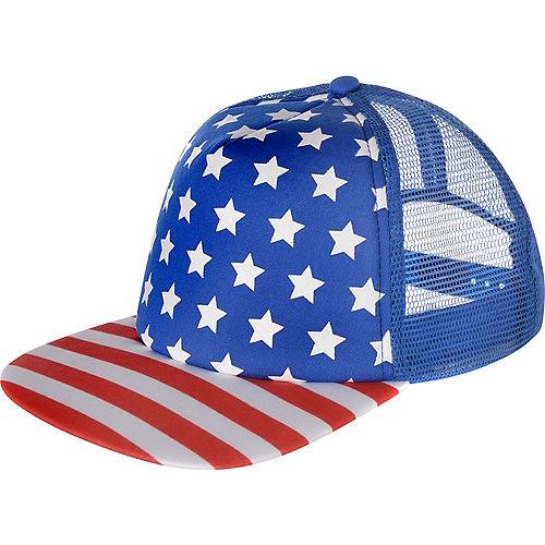 Patriotic Baseball Hat Image #1
