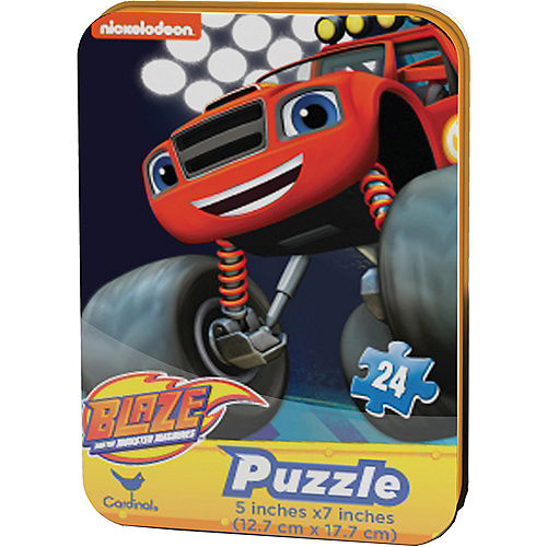 Blaze and the Monster Machines Puzzle Tin Image #1