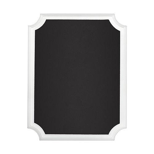 White Border Chalkboard Sign Image #1