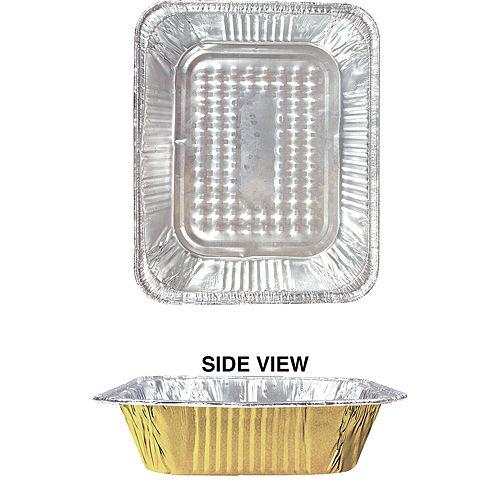 Gold Chafing Dish Buffet Set 8pc Image #4