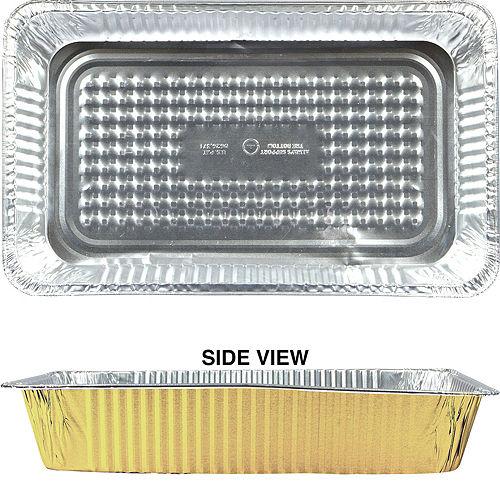 Gold Chafing Dish Buffet Set 24pc Image #3