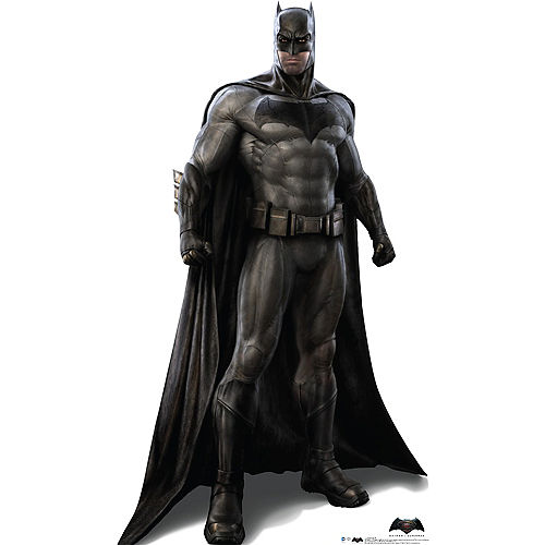 Batman Life-Size Cardboard Cutout, 74in - Batman v Superman: Dawn of Justice Image #1