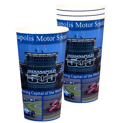 Indy 500 Cups 4ct Image #1