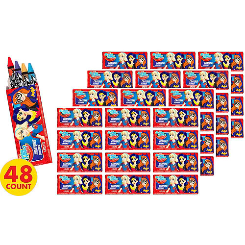 DC Super Hero Girls Crayon Boxes 48ct Image #2
