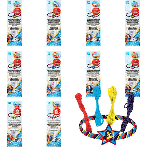 DC Super Hero Girls Friendship Bracelet Kits 48ct Image #1