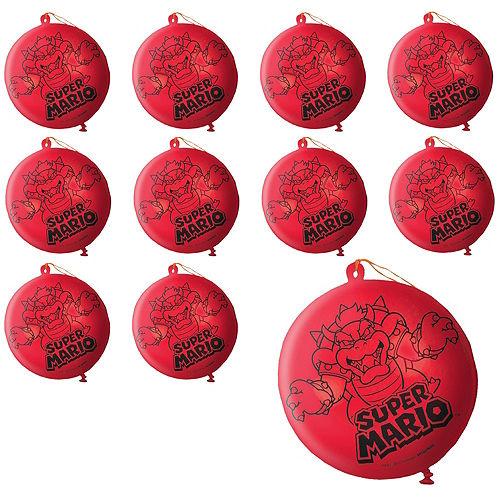 Super Mario Punch Balloons 24ct Image #1