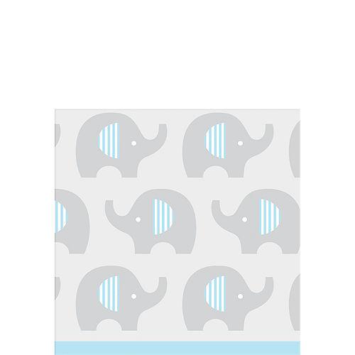Blue Baby Elephant Beverage Napkins 16ct Image #1
